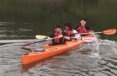 红叶湾水上运动刺激八方客