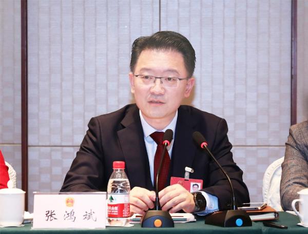 张鸿斌在参加人大代表团分组审议时指出 抢抓机遇谋发展 主动作为勇担当