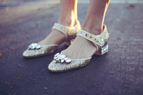 玛丽珍鞋街拍