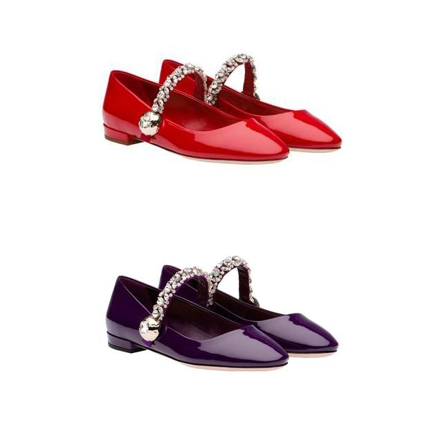Miu Miu玛丽珍复古鞋